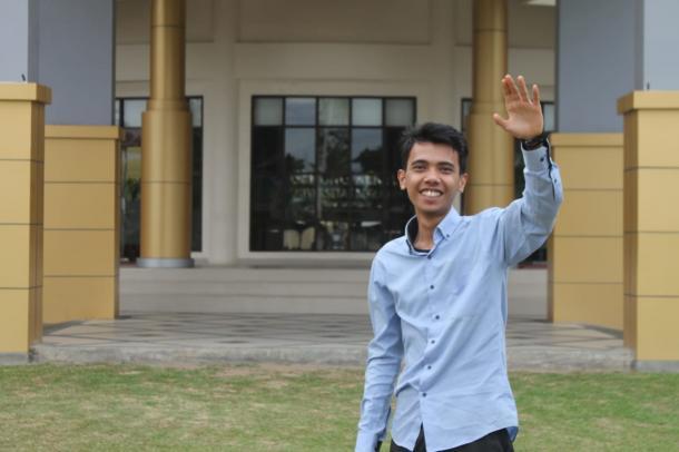 Al  Mukhollis Siagian, Mahasiswa UNP Langganan Media
