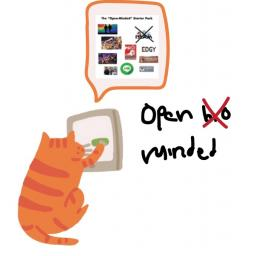 "Berbicara Mengenai Meme ""Open Minded Starterpack"""
