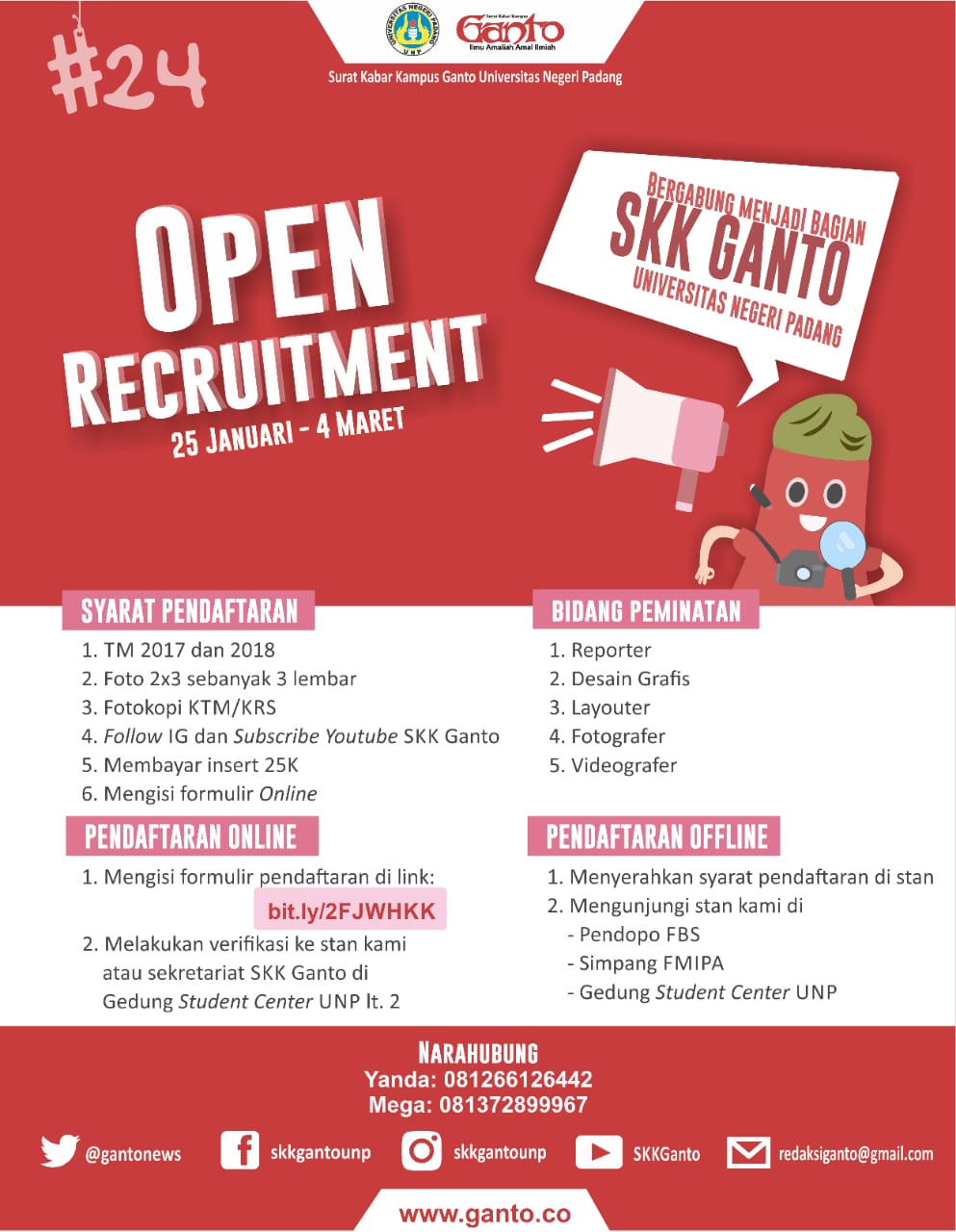 Open Recruitment #24