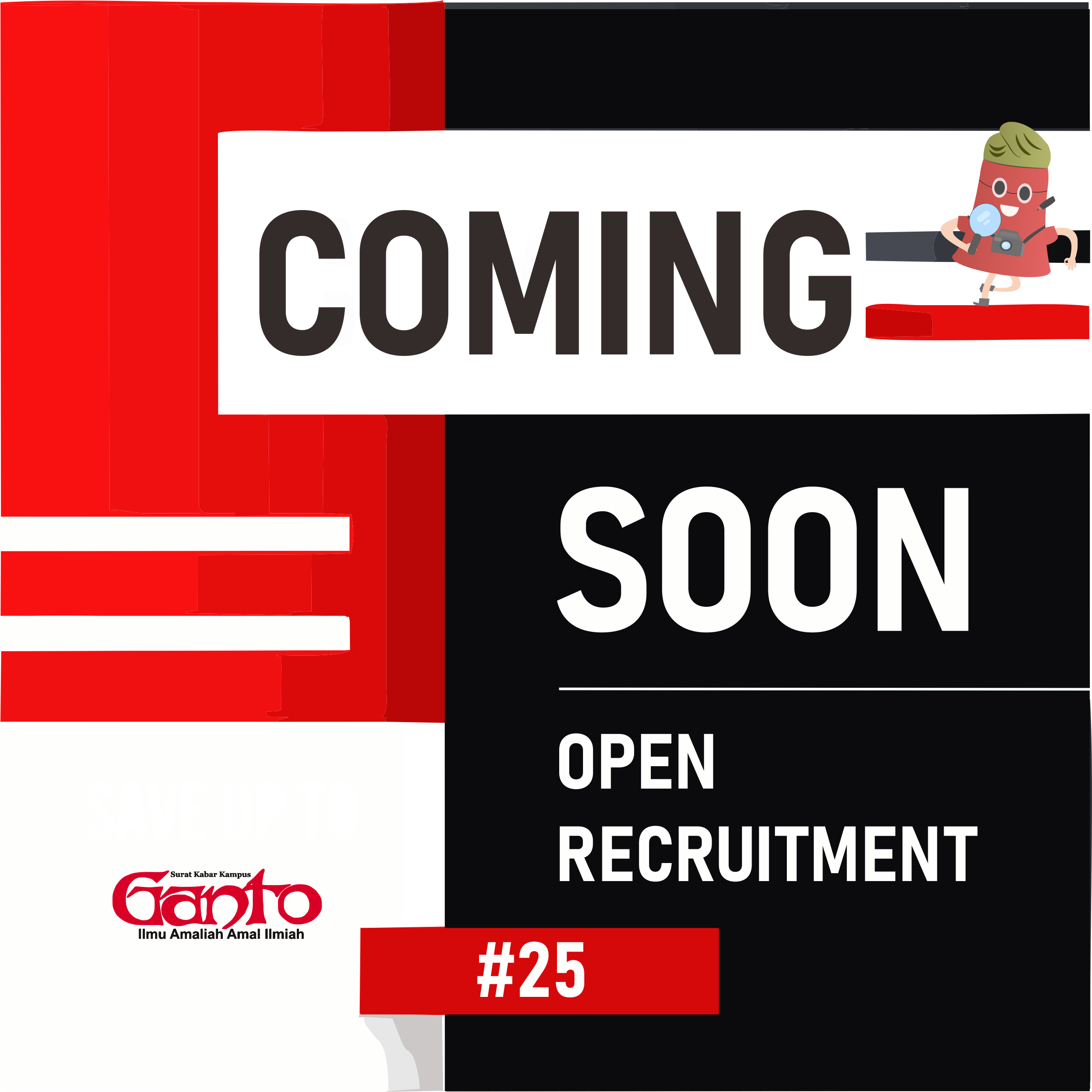 Open Recruitment #25