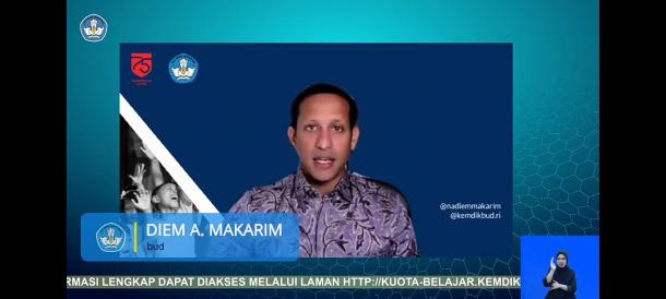 Nadiem Makarim Kembali Lanjutkan Bantuan Kuota Internet...