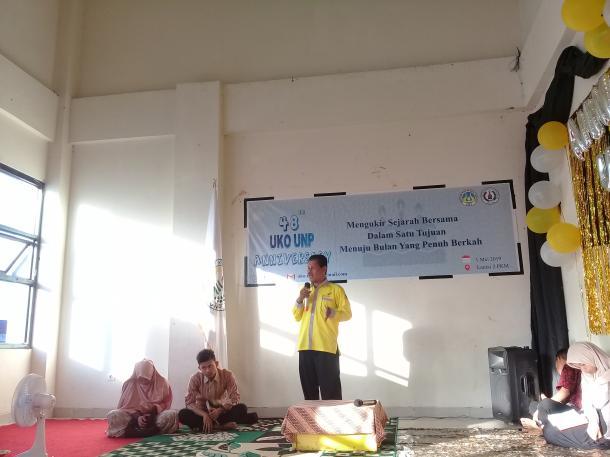 Syamsul Bahri: Usia ke-48 UKO UNP Semakin Matang