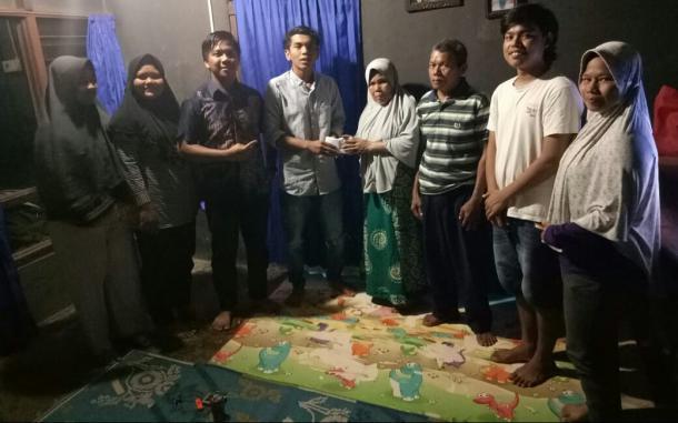 Ringankan Beban Kuliah Irfan, Imapasbar Kom. UNP Gerak Cari Dana