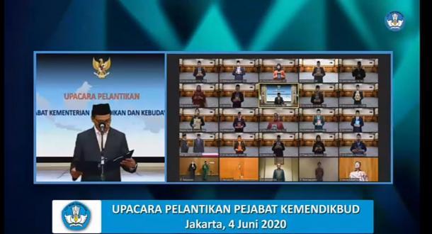 Ganefri Resmi Dilantik Menjadi Rektor UNP Periode 2020-2024