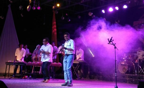 Pembukaan Sumatra Cross Cultural Percussion Festival, Irwan Prayitno Tampil Memukau