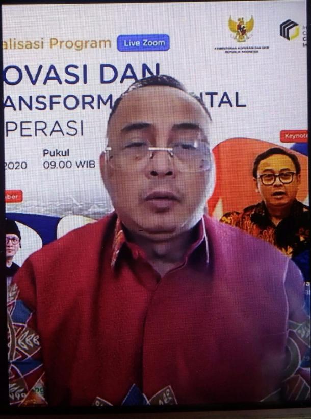 Rully Indrawan: Perlunya Inovasi dan Transformasi Digital Koperasi
