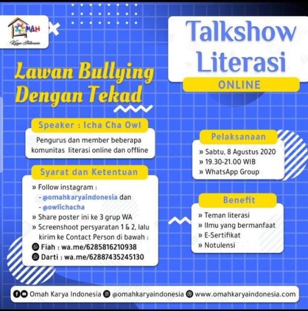 Melawan Bullying dengan Tekad