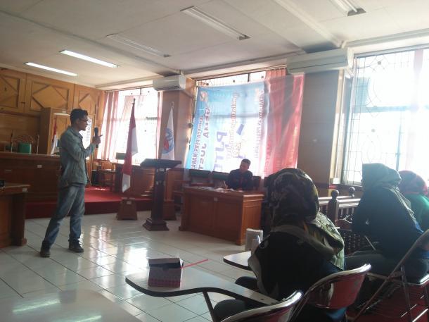 Latih Angkatan Muda, LPM Gema Justisia Adakan PJTD