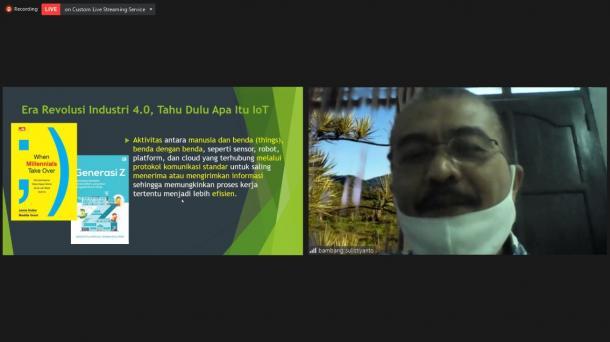 Bambang: Ditengah Pandemi Covid-19, Organisasi Harus Lakukan Perubahan