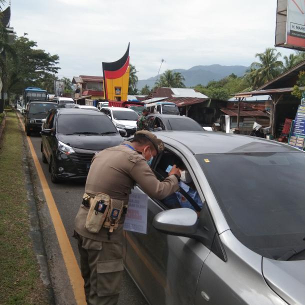 Kota Padang Resmi Melakukan Penyekatan, Ini Respons...