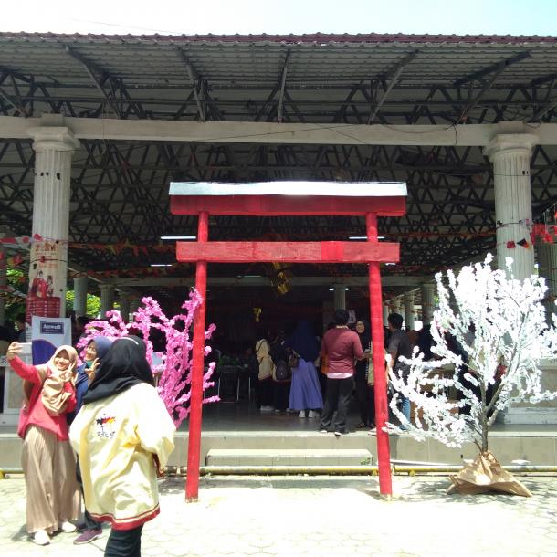 Prodi Bahasa Jepang UNP Tambahkan Unsur Ranah Minang pada Bunkasai ke VII