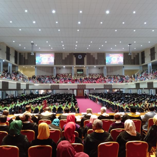Wisuda Pertama UNP Pada Tahun 2020: Hari Kedua Dilepas Sebanyak 1.023 Wisudawan