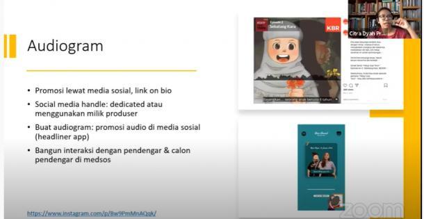 Indonesia Pulih, Konten Kreatif Tumbuh