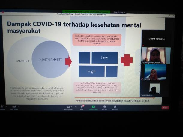 Menjaga Kesehatan Mental di Tengah Pandemi