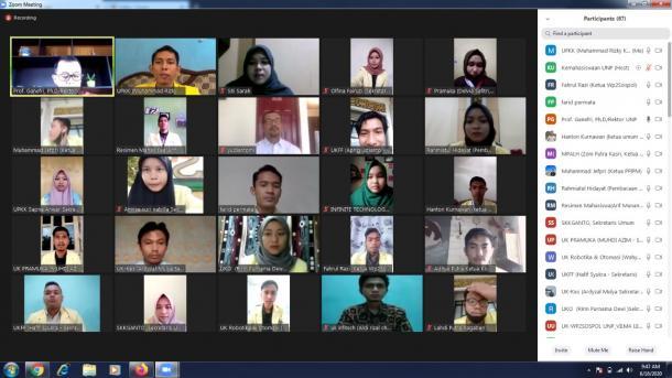 UNP Rencanakan Mekanisme Perkuliahan Daring Juli-Desember...