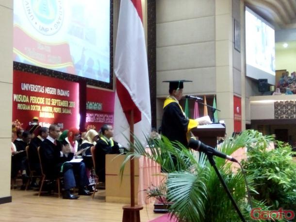 Ganefri: UNP Menuju Global University dalam Upaya Menghadapi Tantangan Zaman