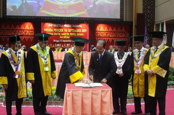 Bantu Tingkatkan Pendidikan, UNP Adakan MoU dengan Kabupaten Pasaman