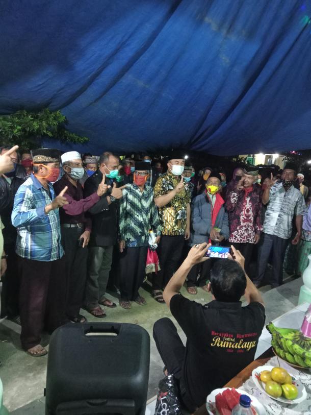 Silahturahmi Calon Bupati Dharmasraya Ke Jorong Tabek Jaya