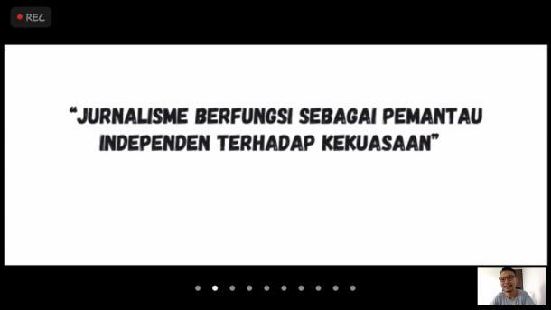 Ikram Saputra: Media Mengalami Kembang-Kempis Saat Pandemi Covid-19