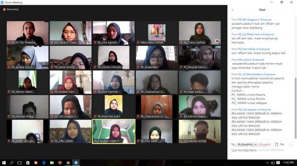 BEM UNP dan Unila Adakan Kerja Sama Webinar Sekolah Relawan