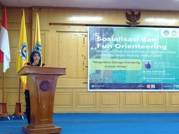 MPALH UNP Gelar Pengenalan Olahraga Orienteering Perdana di UNP