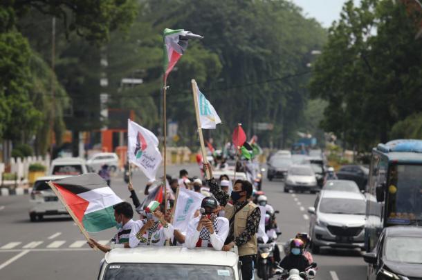 Solidaritas Untuk Palestina, Sejumlah Ormas Gelar Aksi