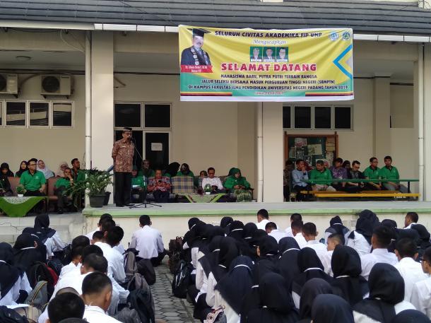 PKKMB SBMPTN FIP 2019, Alwen Bentri Tekankan English Friday