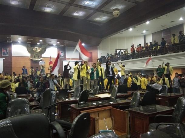 Mahasiswa UNP Diamankan Polisi