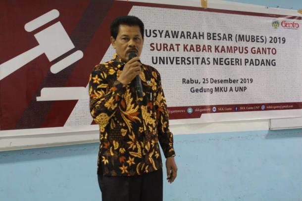 Mubes SKK Ganto UNP, Tolak Ukur Kepengurusan Selanjutnya