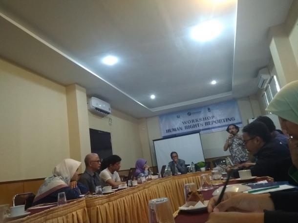 AJI Padang: Workshop Terkait HAM