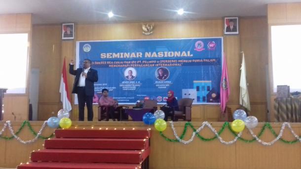 HMJ Manajemen FE Gelar Seminar Nasional
