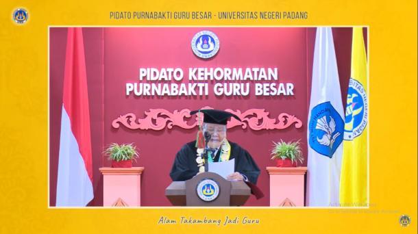 Pidato Purnabakti Guru Besar Universitas Negeri Padang