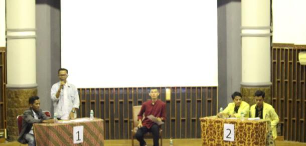 Kampanye Dialogis Pasangan Calon Presiden dan Wakil Presiden Mahasiswa UNP