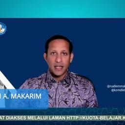 Nadiem Makarim Kembali Lanjutkan Bantuan Kuota Internet Mulai Maret 2021