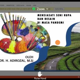 Adirozal: Dalam Situasi Bagaimanapun, Kegiatan Seni Jangan Sampai Mati