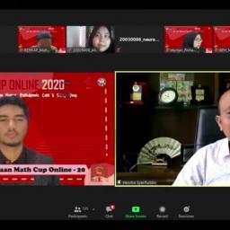 Himatika UNP Gelar Math Cup Online 2020
