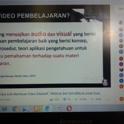 Webinar Kemendikbud RI, Cara Asyik Membuat Video Pembelajaran
