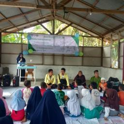 Peduli Desa, Kemensosling BEM UNP Adakan Program Desa Binaan