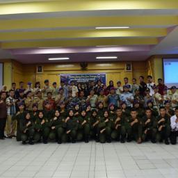 Serah Terima Jabatan Komandan Menwa UNP