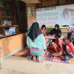 Posko Ilmu: Perpustakaan dan Tempat Belajar Gratis di Kelurahan Balai Gadang