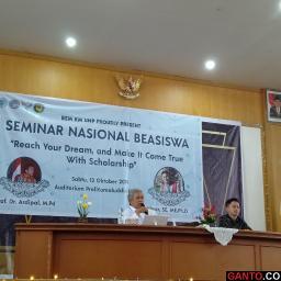 Seminar Nasional Beasiswa: Sejumlah Persyaratan Harus Dipenuhi