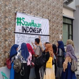 HMJ Geografi UNP Gelar Aksi Protes