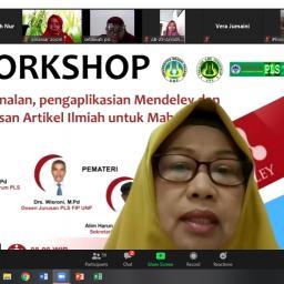 Tingkatkan Kualitas Karya Tulis Ilmiah Mahasiswa, Jurnal Spektrum PLS Adakan Workshop