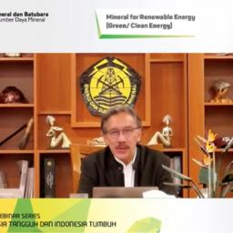 Ditjen Minerba Kementerian ESDM: Indonesia Siap Menuju Industri Ramah Lingkungan