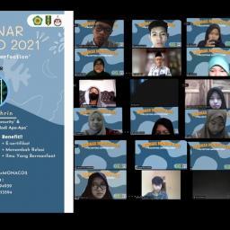 Webinar SMA 1 Muhammadiyah: Menerima Ketidaksempurnaan