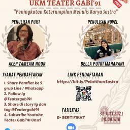 UKM Teater Gabi 91 Menyelenggarakan...
