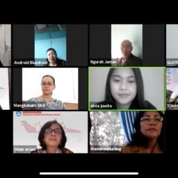 Diskusi Virtual Pemberdayaan Perempuan