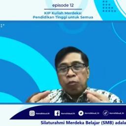 Abdul Kahar : KIP Kuliah Merdeka Belajar adalah Hasil Penyusuaian dan Evaluasi Pola...
