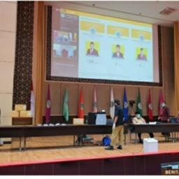 UNP Adakan Rapat Senat Tertutup Pemilihan Rektor UNP Melalui e-Voting