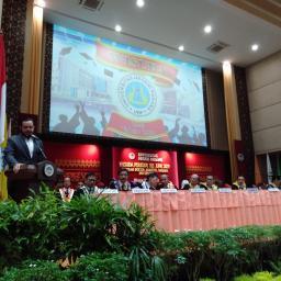 Orasi Ilmiah, H. Fadli Amran, B.B.A. Ungkap Cita-Cita Tinggi Perlu Perjuangan